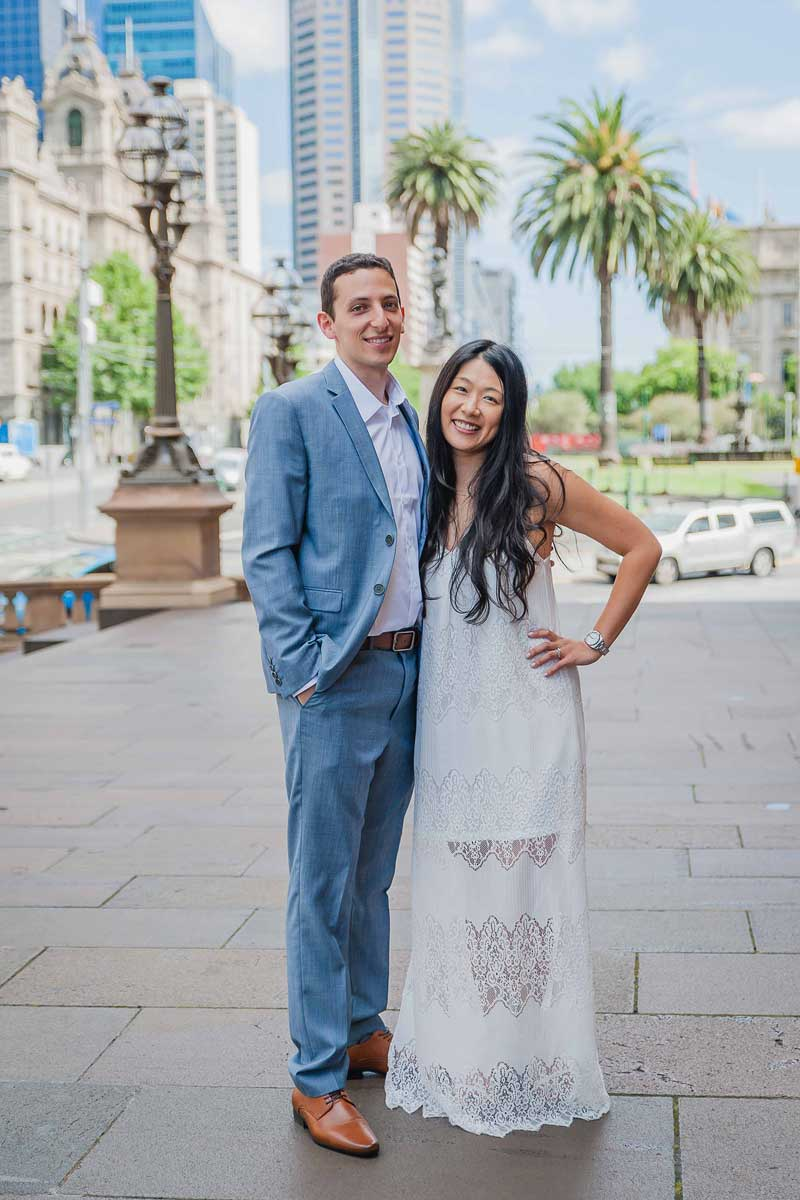 Old Treasury Building Wedding Photography
