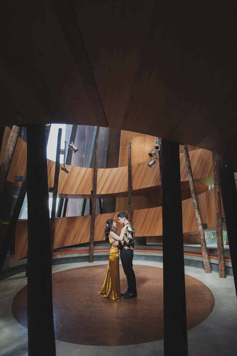 melbourne museum wedding photography